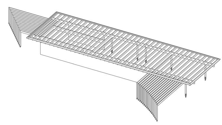 Modelo 3D / Estructura de Madera