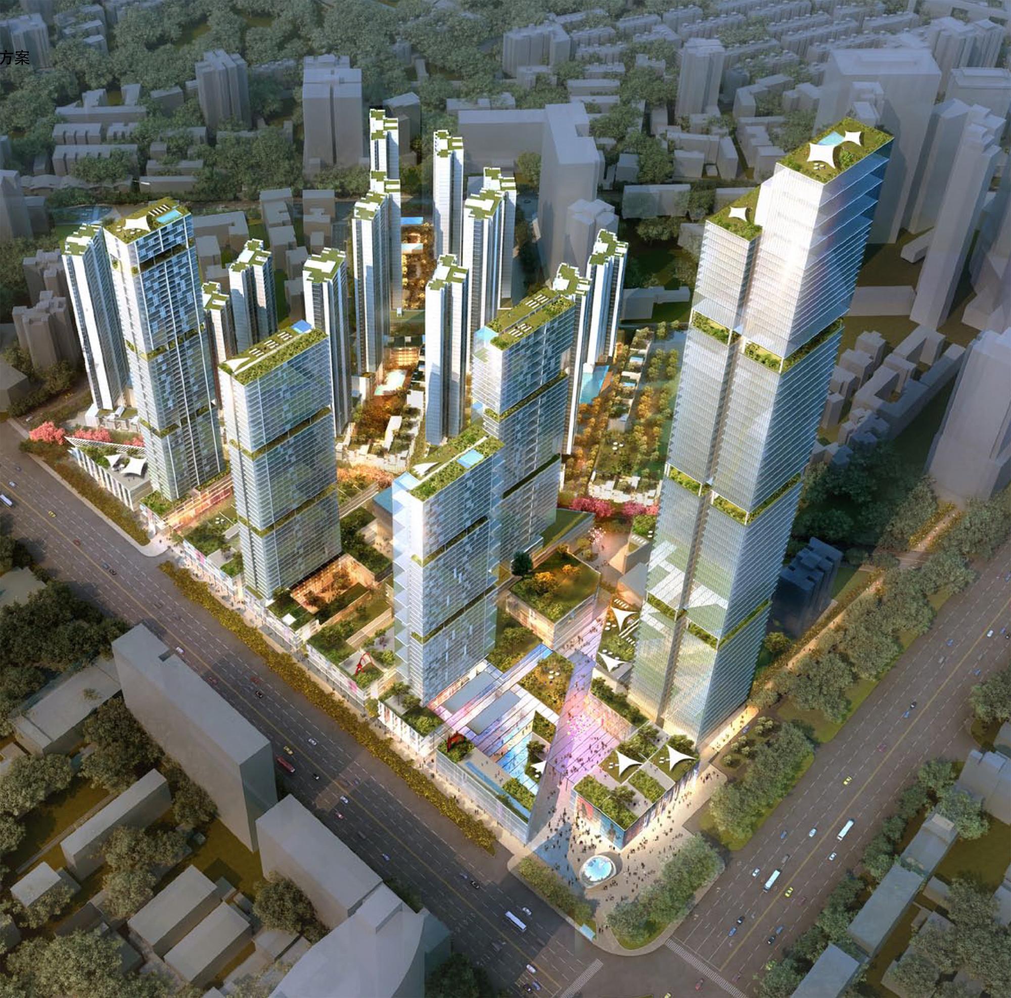 Jumeirah Wuhan. Image cortesía de Jumeirah Group