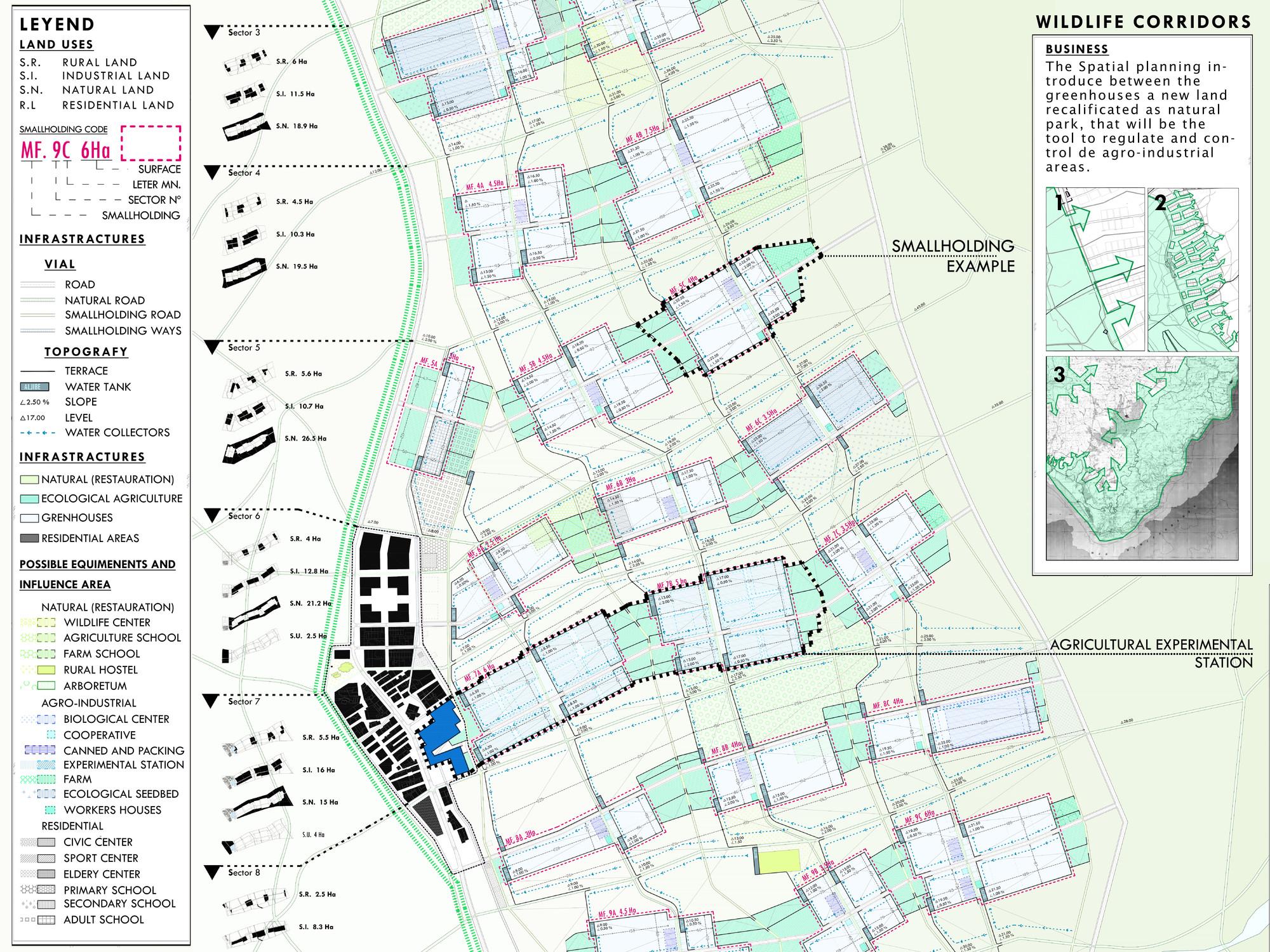 Detalle del plan. Image Cortesia de DAT Pangea