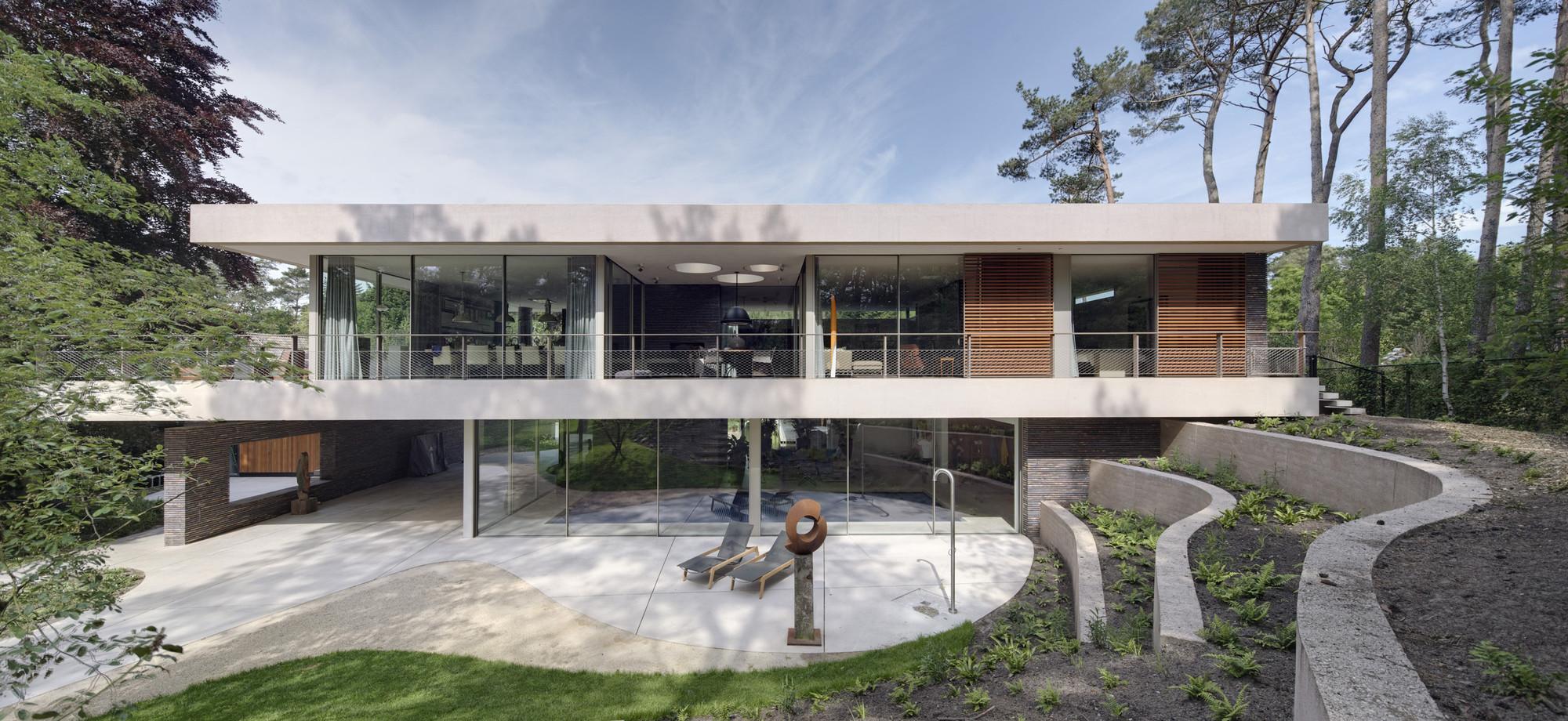 Dune villa hilberinkbosch architects archdaily