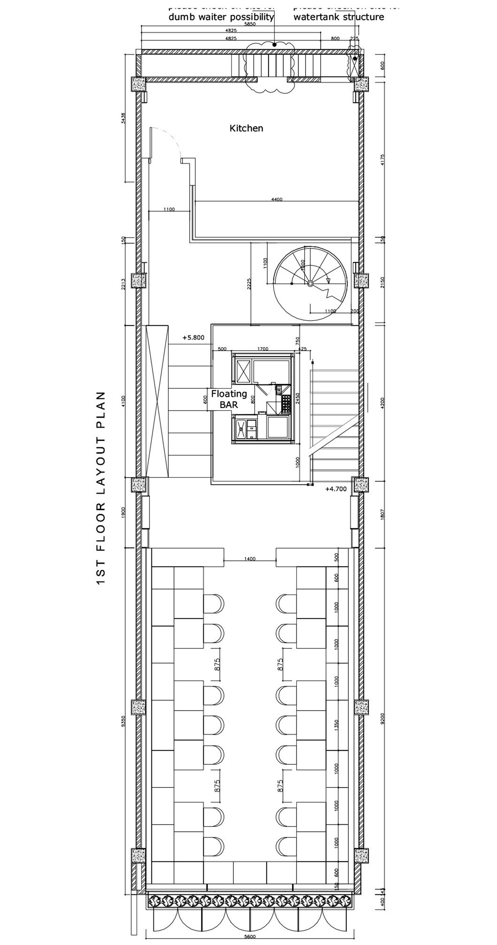gallery of carpediem restaurant sidharta architect 12 floor plan