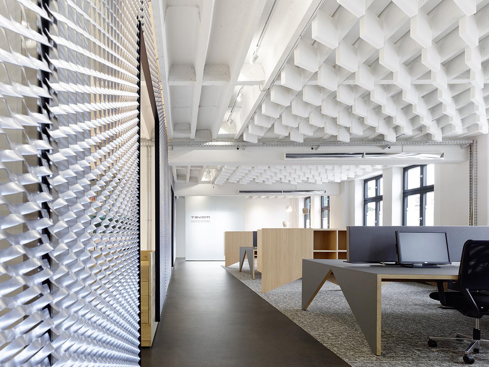Movet office loft interior design studio alexander fehre for Loft office design