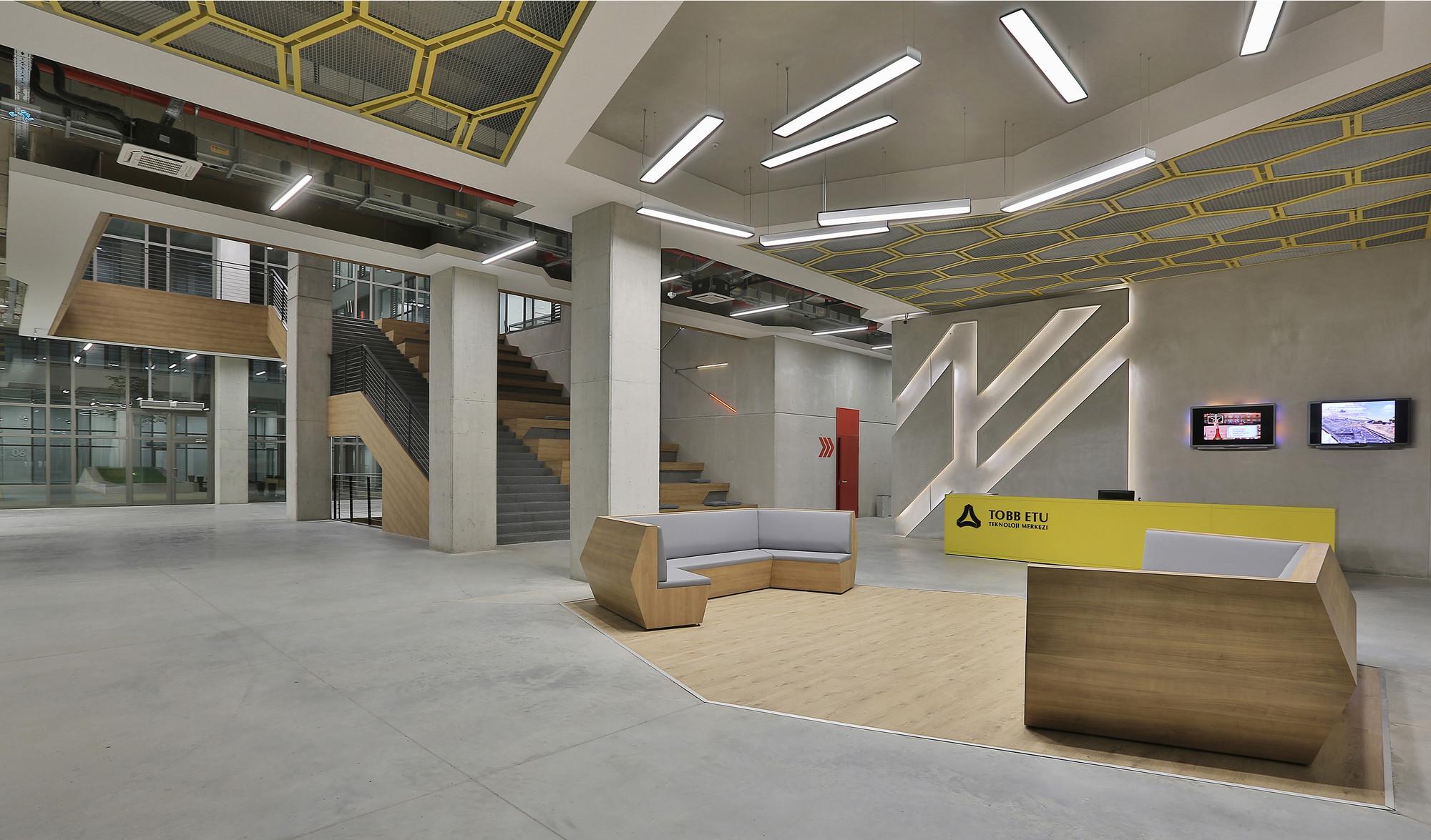 Centro tecnológicoTobb Etü  / A Architectural Design, © Fethi Mağara
