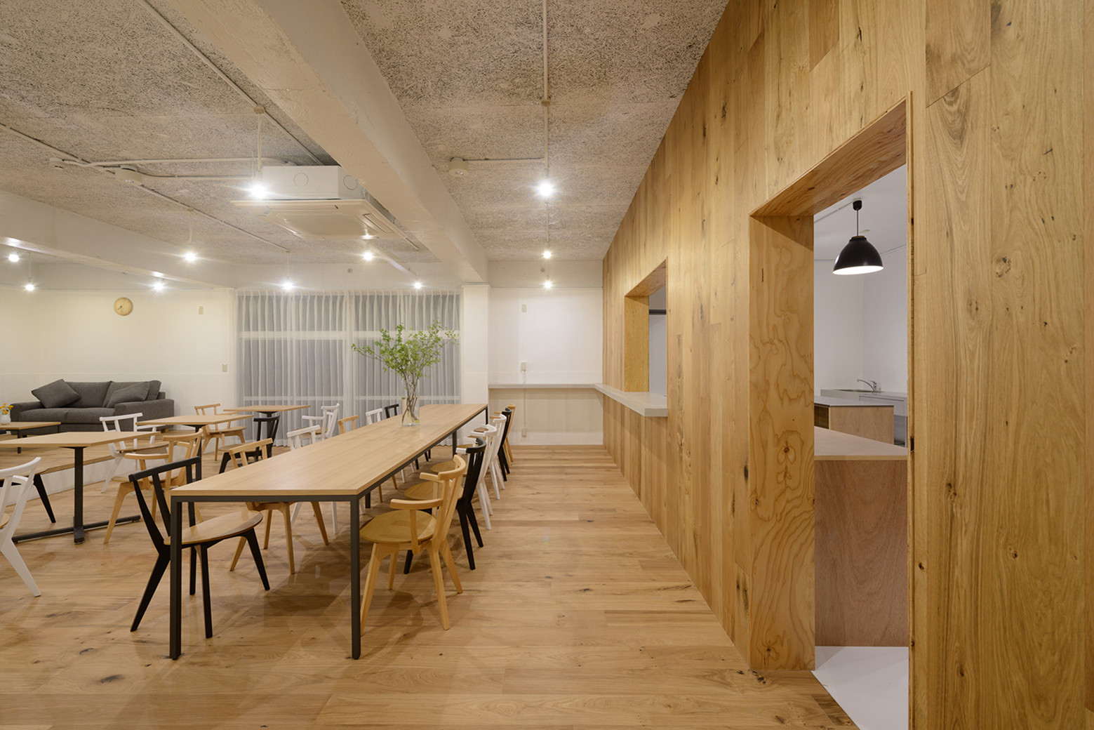 Share House Funabashi Kasa Architects Archdaily