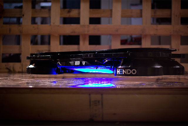 Architect Develops the World's First Hoverboard , © Hendo via Kickstarter