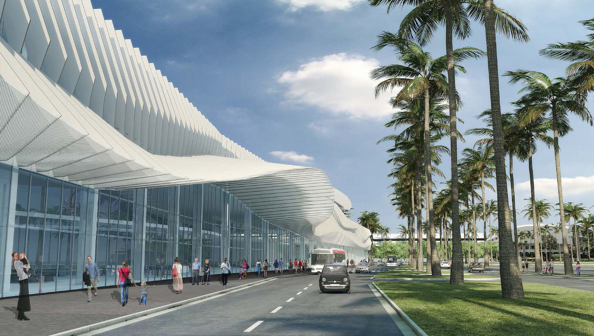 Fentress Releases Final Design For Miami Beach Convention Center Archdaily