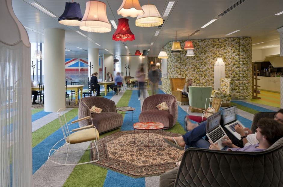 Google's Super HQ Office en Londres. Image Cortesia de PENSON