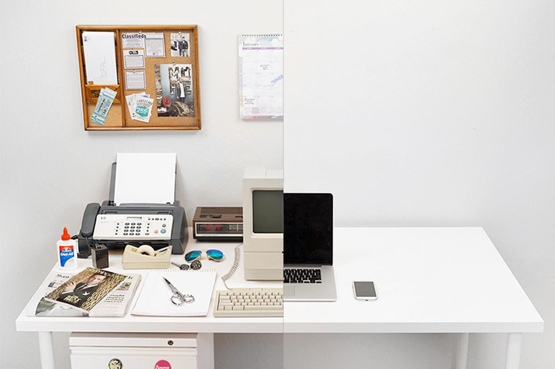 Total Mobility: Evolution of the desk (1908 - 2014) / Hardvard Innovation Lab *. Image © Bestreviews.com