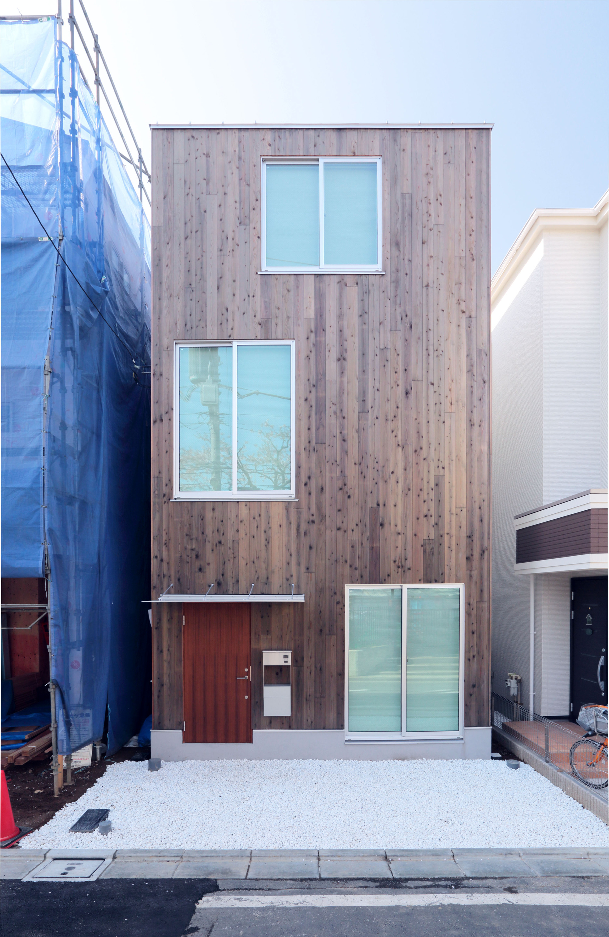 design your own home with mujis prefab vertical housecourtesy of muji - Design Your Own Home