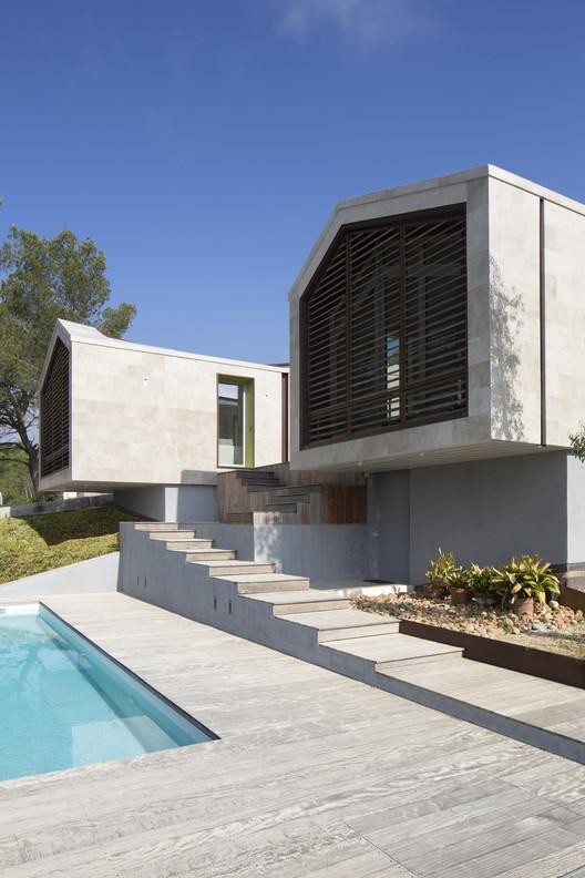 Casa Individual / Elodie Nourrigat & Jacques Brion Architects, © Photoarchitecture