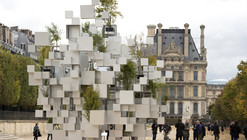 Sou Fujimoto Constructs Inhabitable Nomadic Structure for Parisian Art Fair
