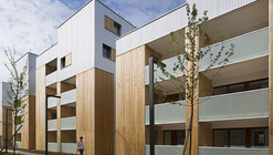 52 Social Housing Units in Nanterre / Colboc Franzen & Associés