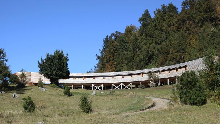 Casa Retiro Kawelluco / Lira Arquitectos Asociados, Cortesía de  Lira Arquitectos Asociados