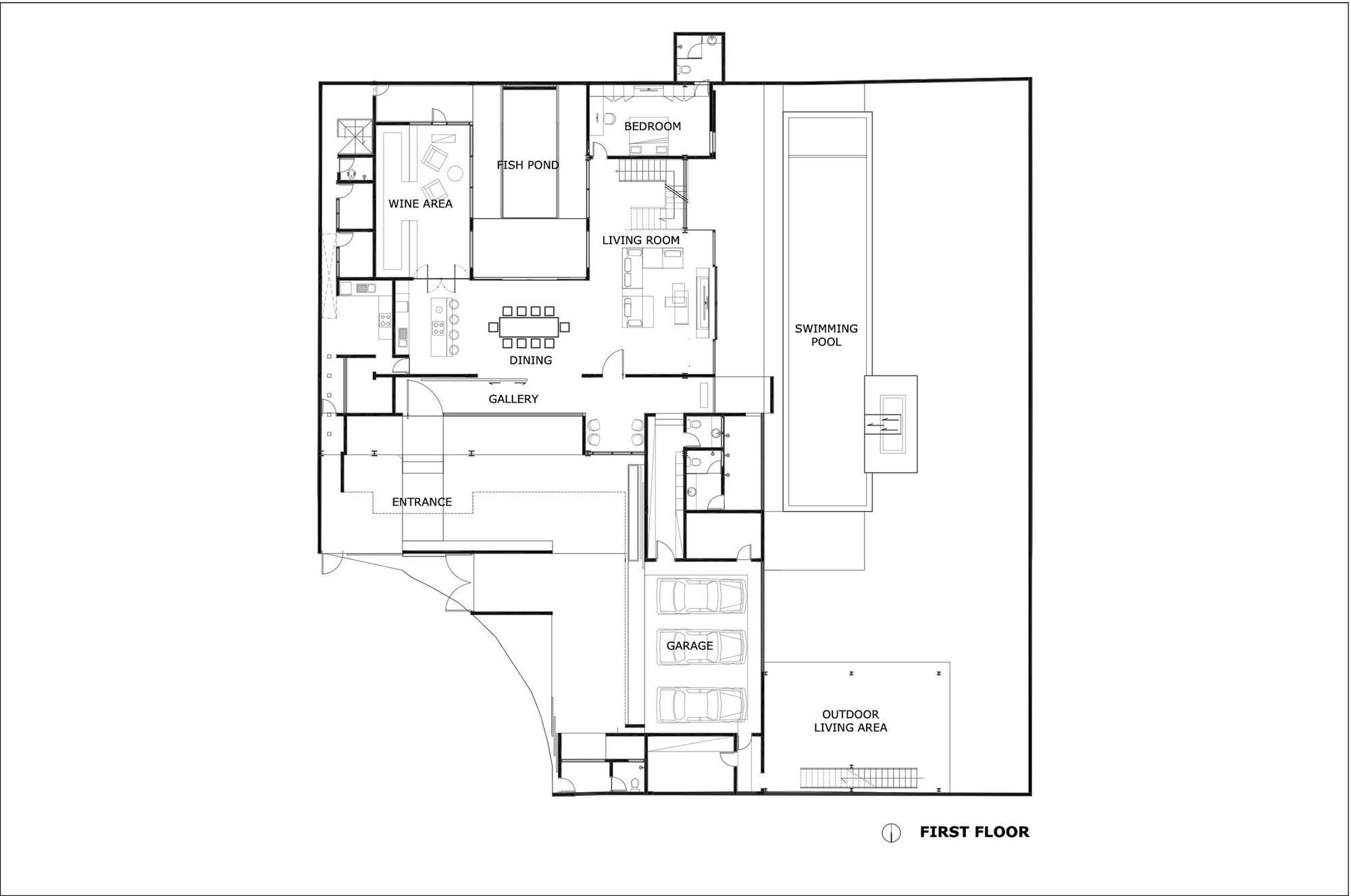 rumah bidang jakarta raul renanda design archdaily