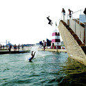 PLOT's Copenhagen Harbour Bath has been a hugely successful precedent in the urban swimming trend. Image © Casper Dalhoff