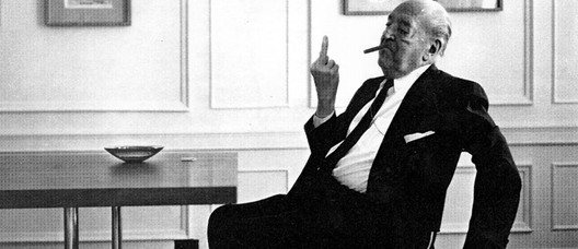 Ludwig Mies van der Rohe. Image Courtesy of Supporting Frank Owen Gehry