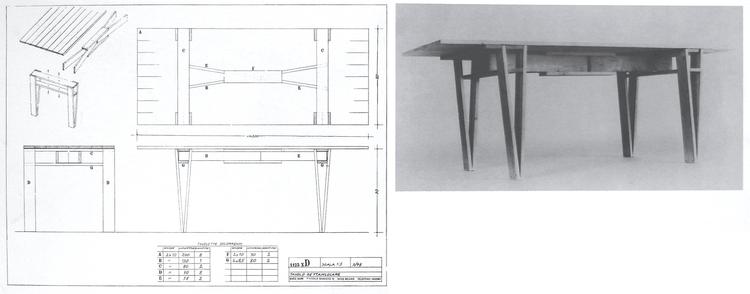 Tavolo Rettangolare / Modelo 1123 xD