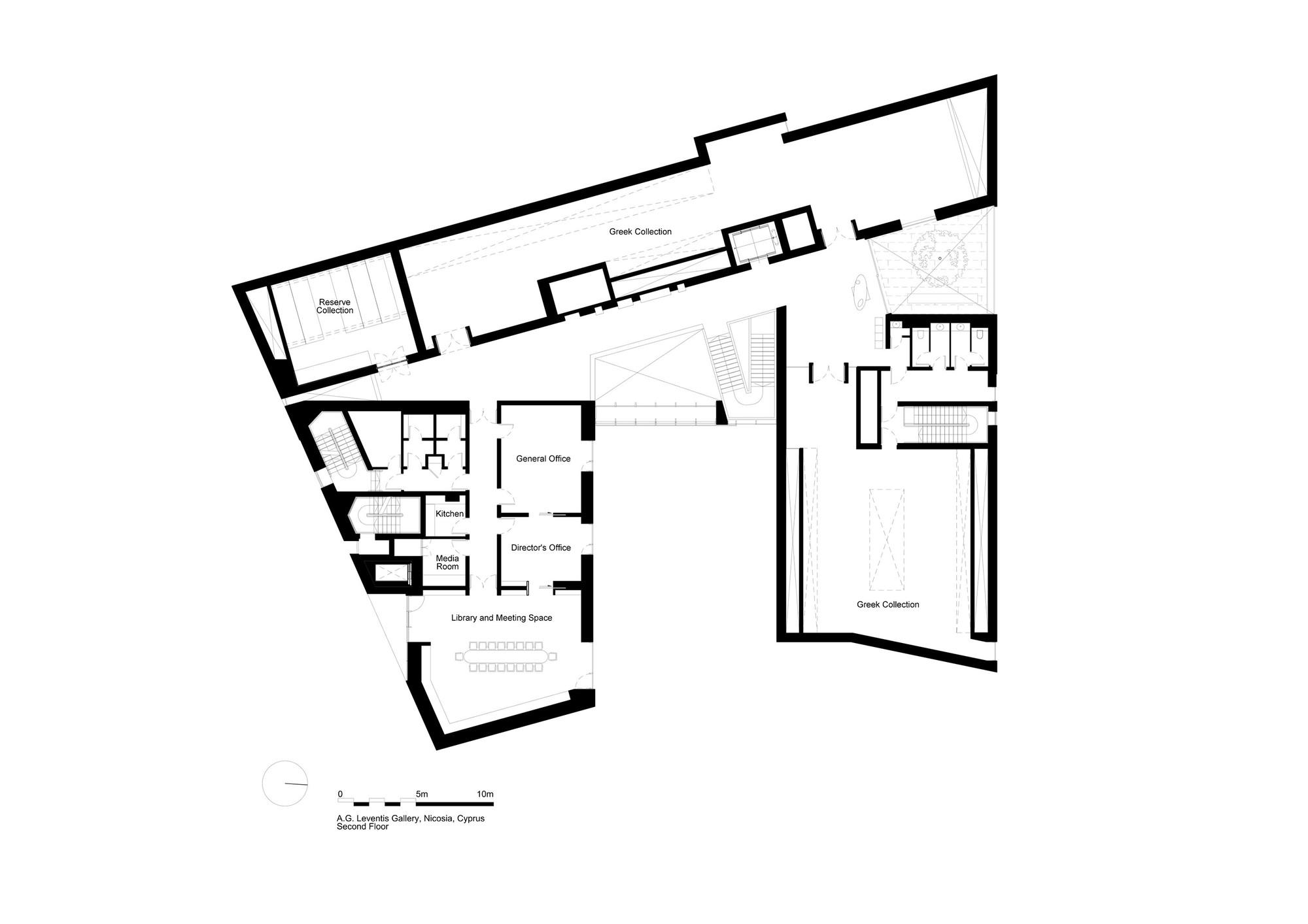 Gallery of leventis art gallery feilden clegg bradley studios 16 - Big floor plans gallery ...