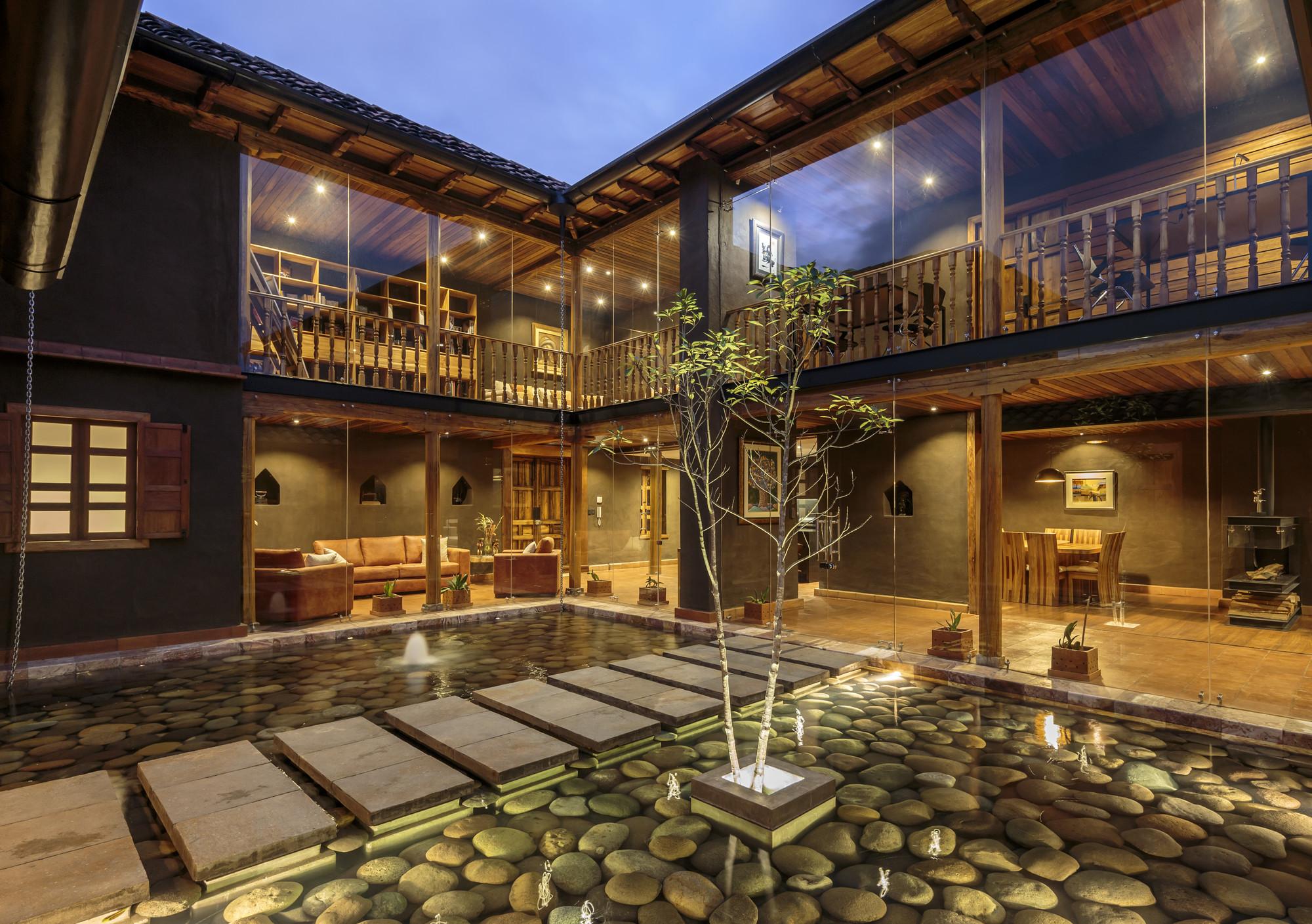 Casa de la loma iv n andr s quizhpe plataforma - La casa de las perchas ...