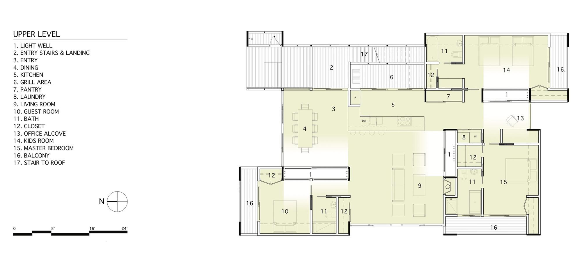 Gallery of northwest harbor bates masi architects 14 for Northwest floor plans