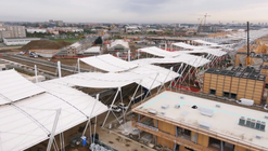 Fly Through Milan's 2015 Expo Site in Progress With the Help of a Drone