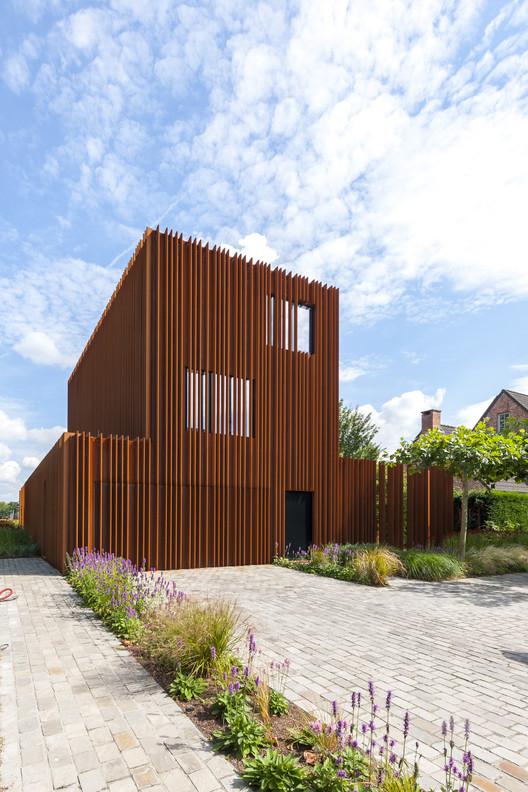 Casa Corten / DMOA Architecten , © Luc Roymans