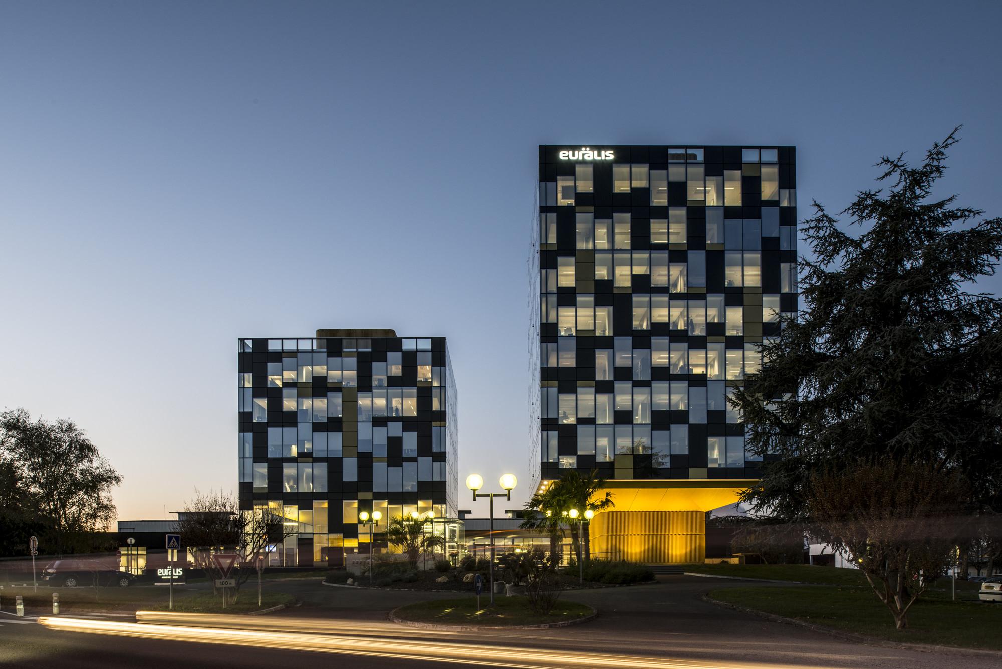 Sede principal EURALIS / LCR Architectes, © Sylvain Mille