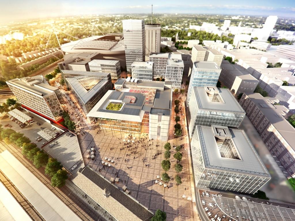 Foster + Partners revela el plan maestro de la plaza Cardiff Central Square, Cortesía del Ayuntamiento de Cardiff