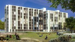 Segundo lugar en III concurso nacional de viviendas para futura Villa Olímpica JOJ 2018 / Buenos Aires