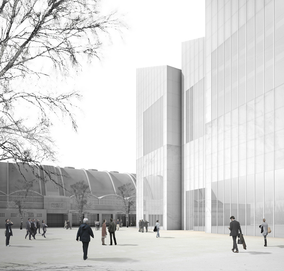 Chipperfield's Musée des Beaux-Arts Nixed for Being too Costly, Courtesy of David Chipperfield Architects
