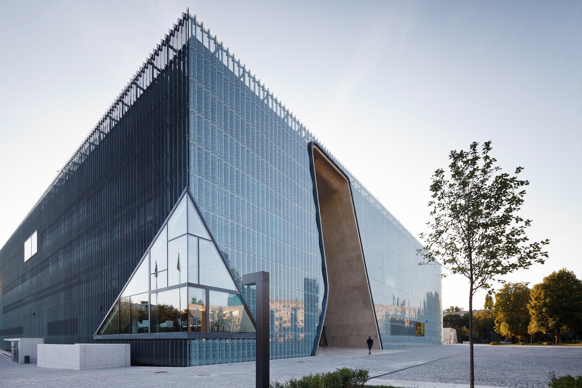 Museo de la historia Judio-Polaca / Lahdelma & Mahlamäki + Kuryłowicz & Associates. Imágen © Pawel Paniczko