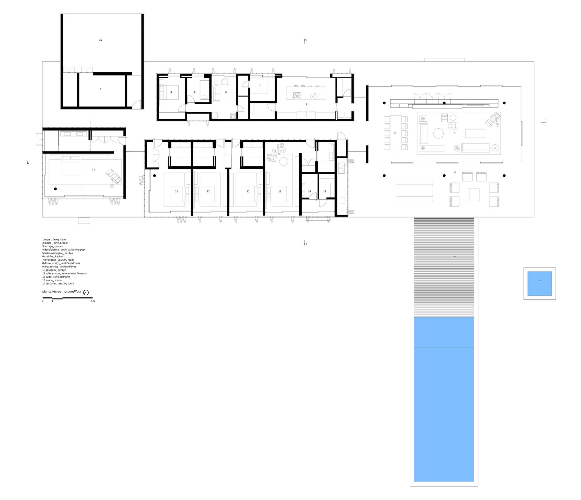 Gallery of redux house studio mk27 marcio kogan for Marcio kogan plans