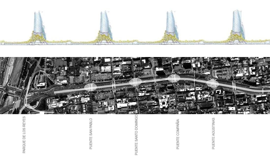 Anteproyecto Refundación Autopista Norte-Sur, Versión 2013 / Imágenes Preliminares. Image Cortesia de Boza + Boza Arquitectos