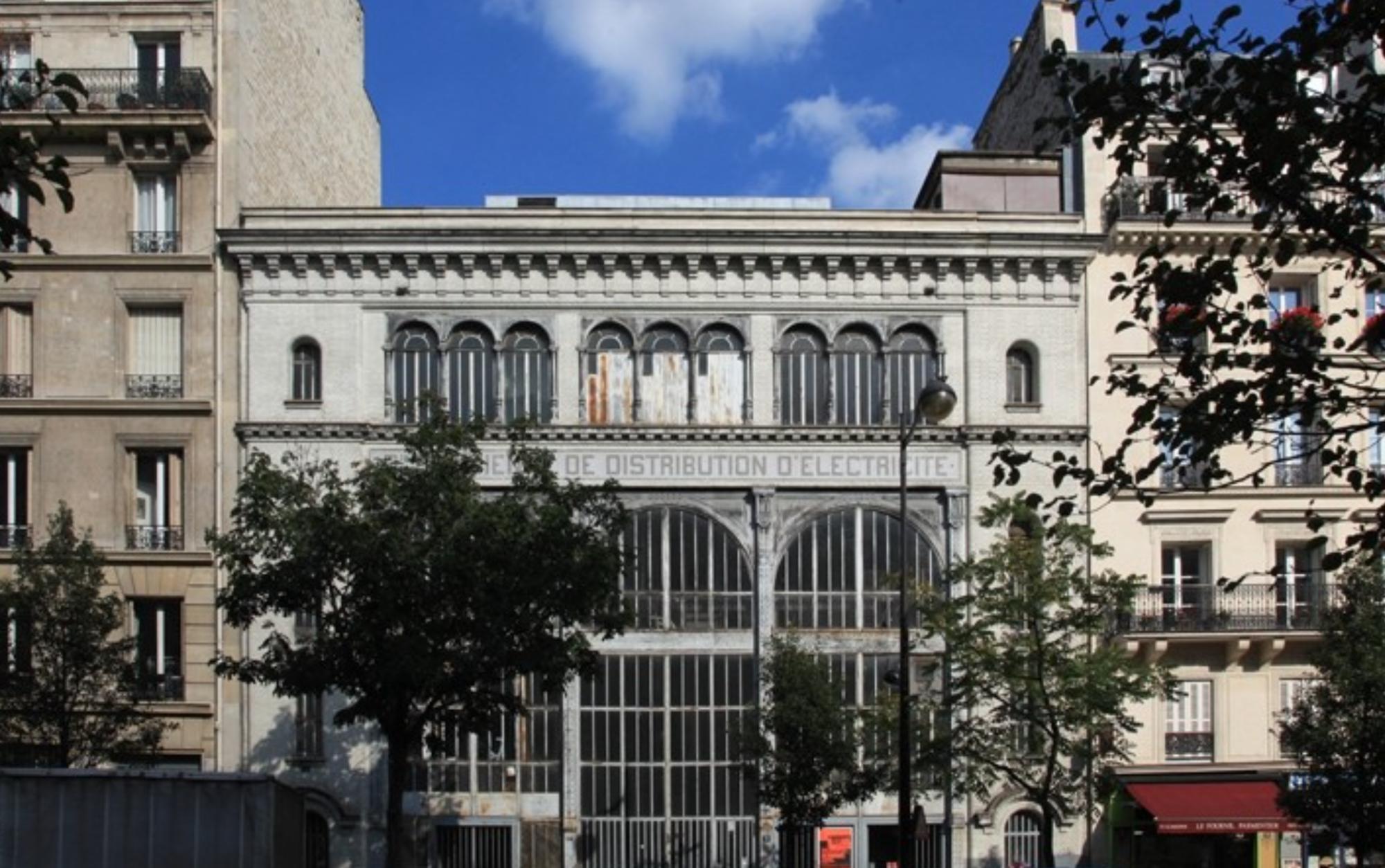 Site: Sous-station Voltaire (11e). Image Courtesy of Reinventer Paris