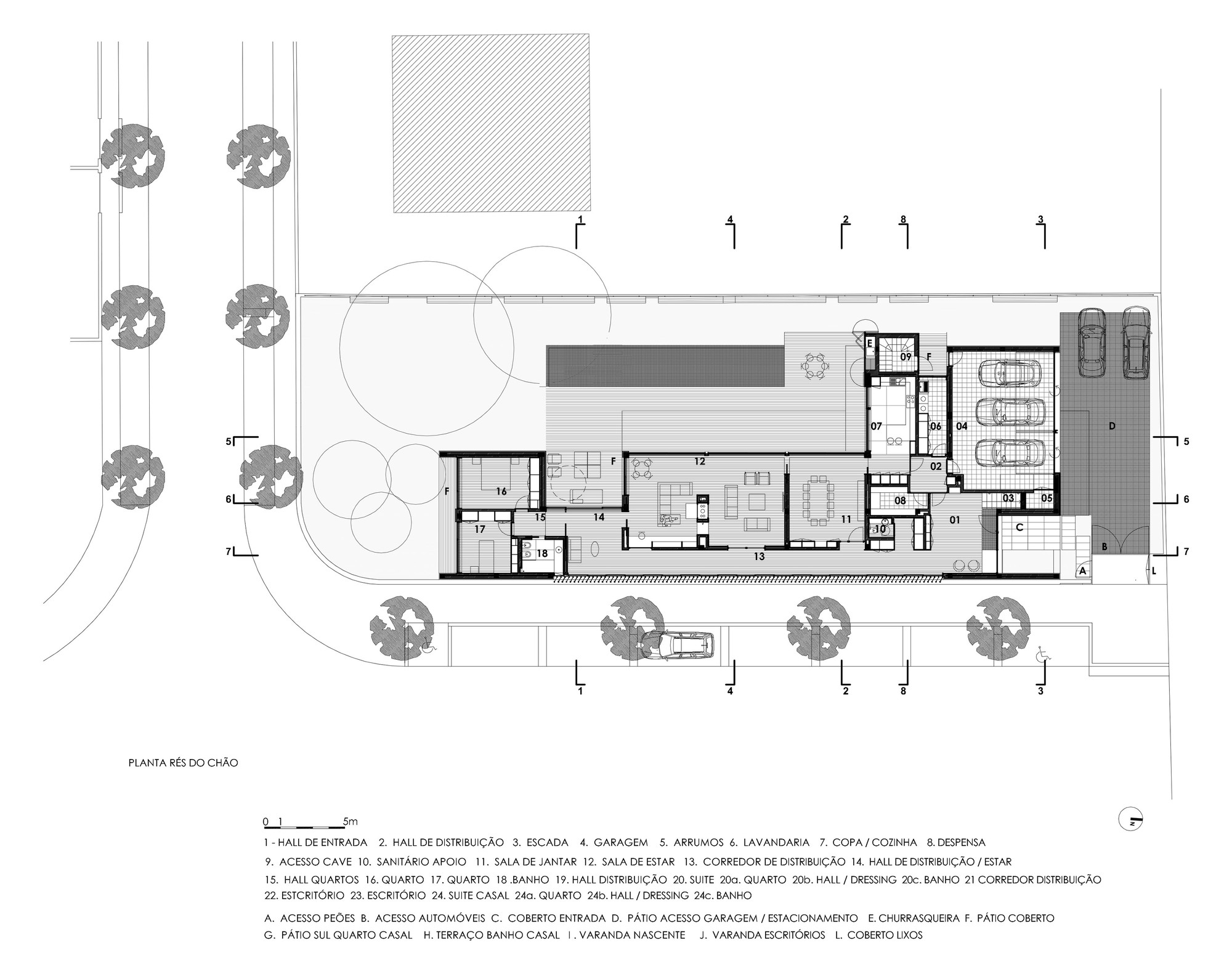 Gallery of jd house atelier d 39 arquitectura j a lopes - Atelier arquitectura ...