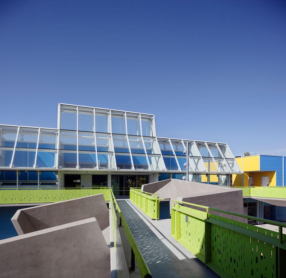 Edison Language Academy / Kevin Daly Architects & IBI Group; Santa Monica, CA. Image Courtesy of AIA Los Angeles
