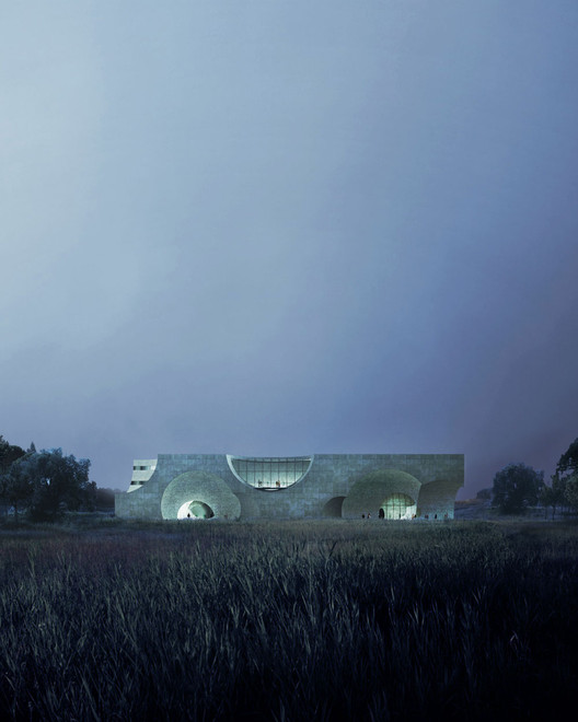 Liepaja Thermal Bath / Steven Christensen Architecture; Liepaja, Latvia. Image Courtesy of AIA Los Angeles