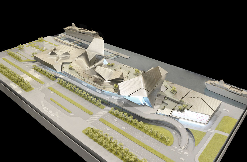 Kinmen Passenger Service Center / Tom Wiscombe Architecture; Kinmen, Taiwan. Image Courtesy of AIA Los Angeles