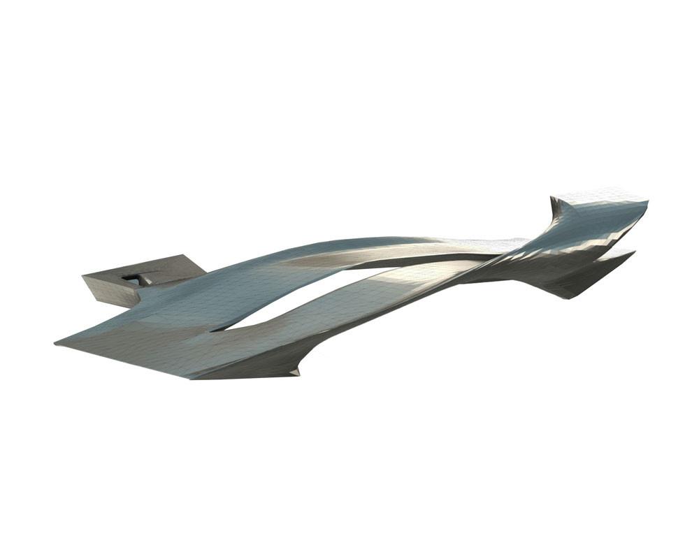 Luxelake Bridge / Yazdani Studio of Cannon Design; Chengdu, China. Image Courtesy of AIA Los Angeles