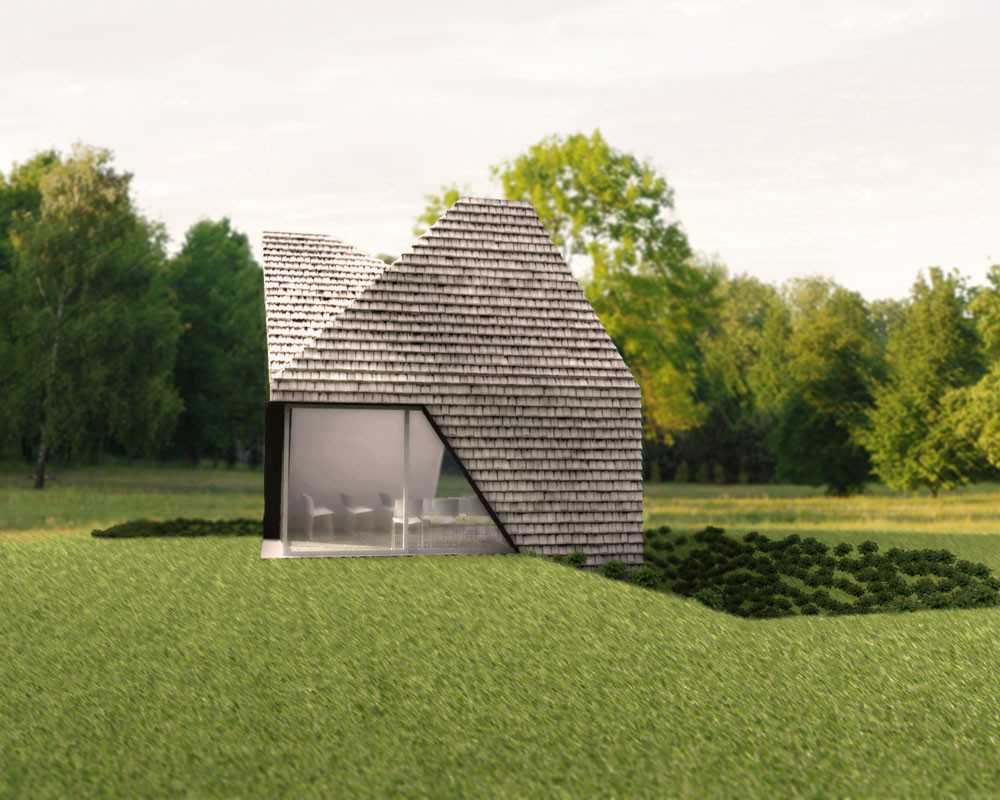 Pop-Up Chapel / Steven Christensen Architecture; Washington County, Oregon. Image Courtesy of AIA Los Angeles