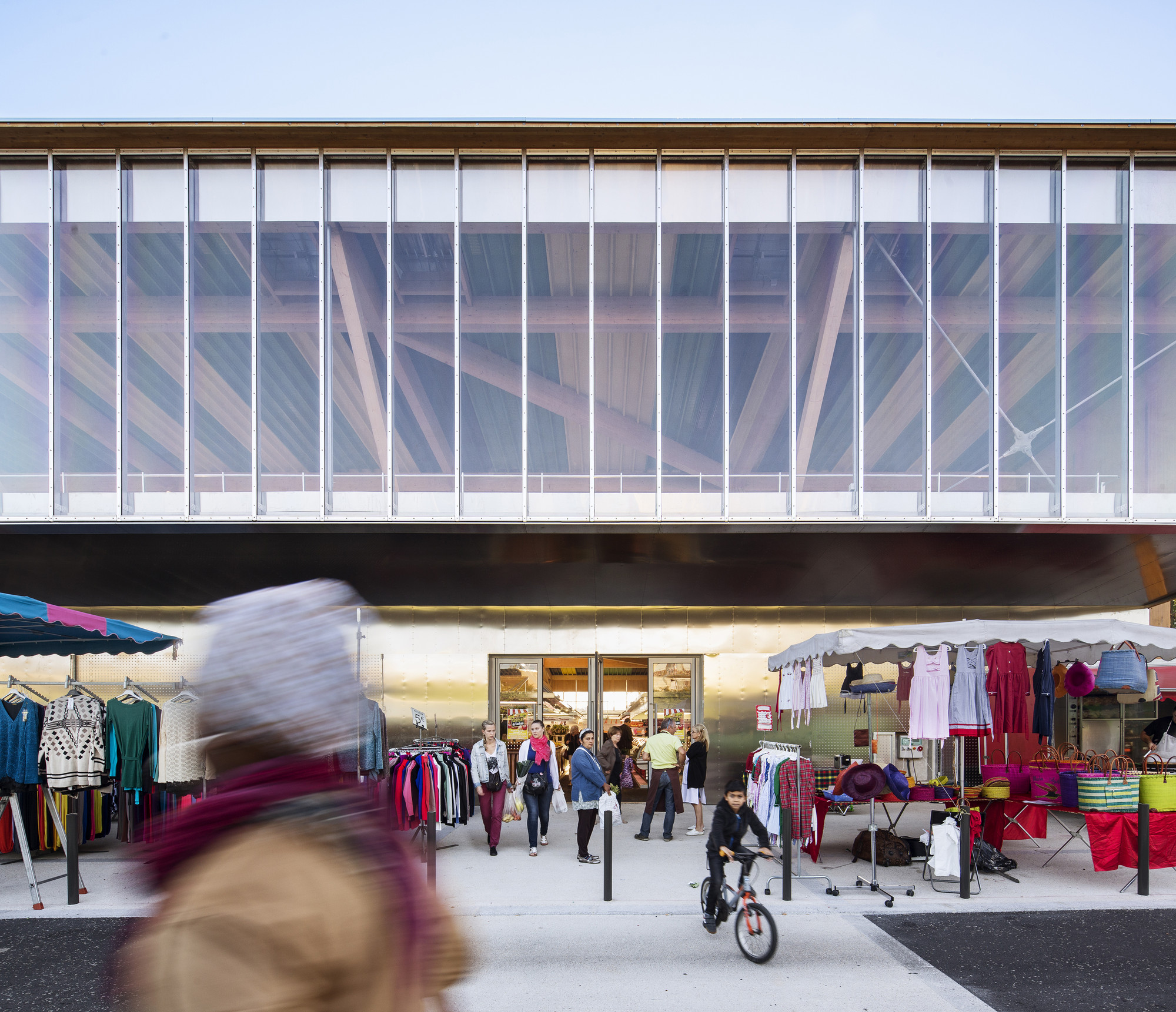 Cachan Covered Market / Croixmariebourdon Architectures, © Luc Boegly