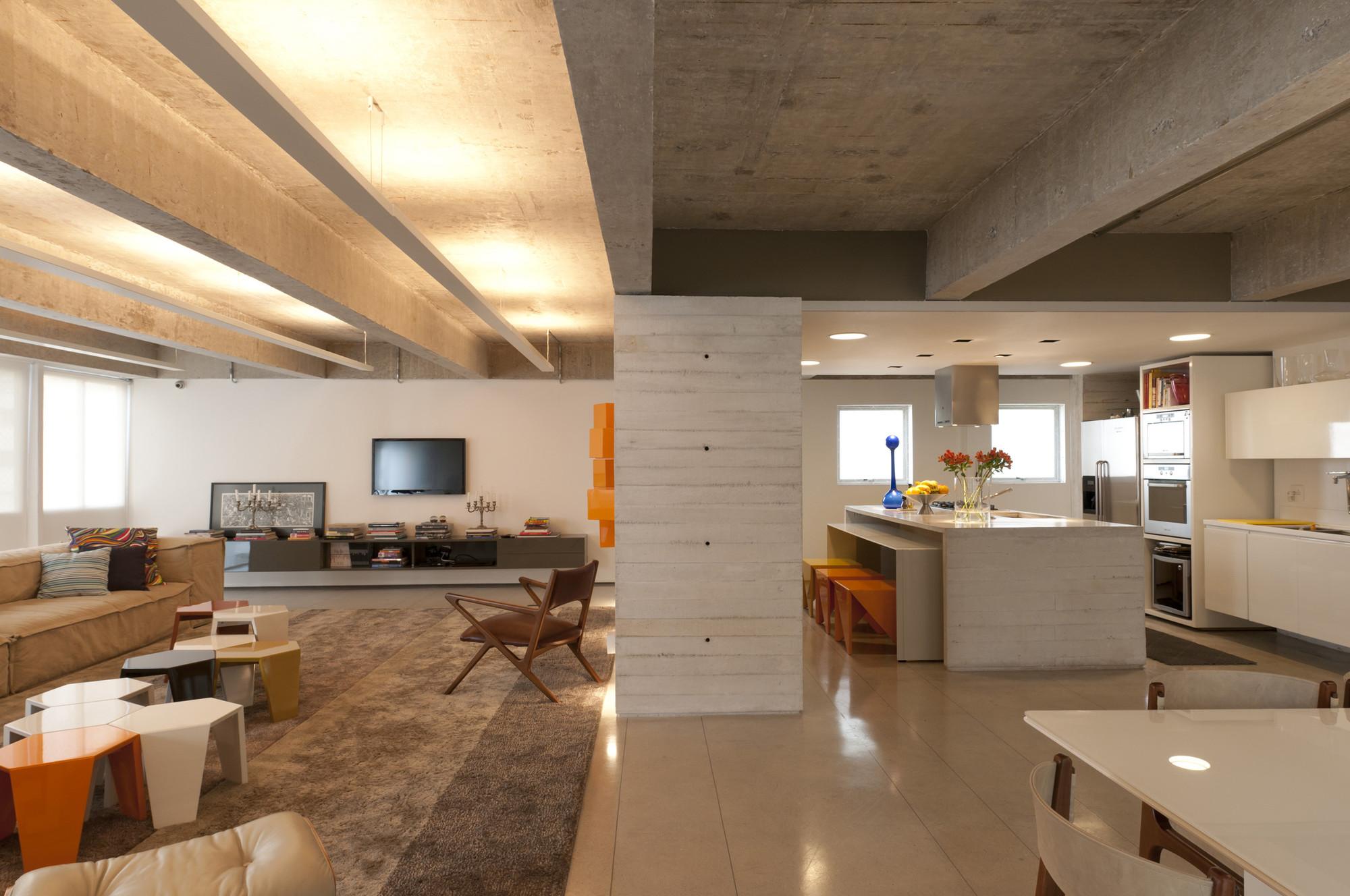 Barão de Pirapitingui Apartment / Felipe Rodrigues Arquiteto, © Raul Fonseca