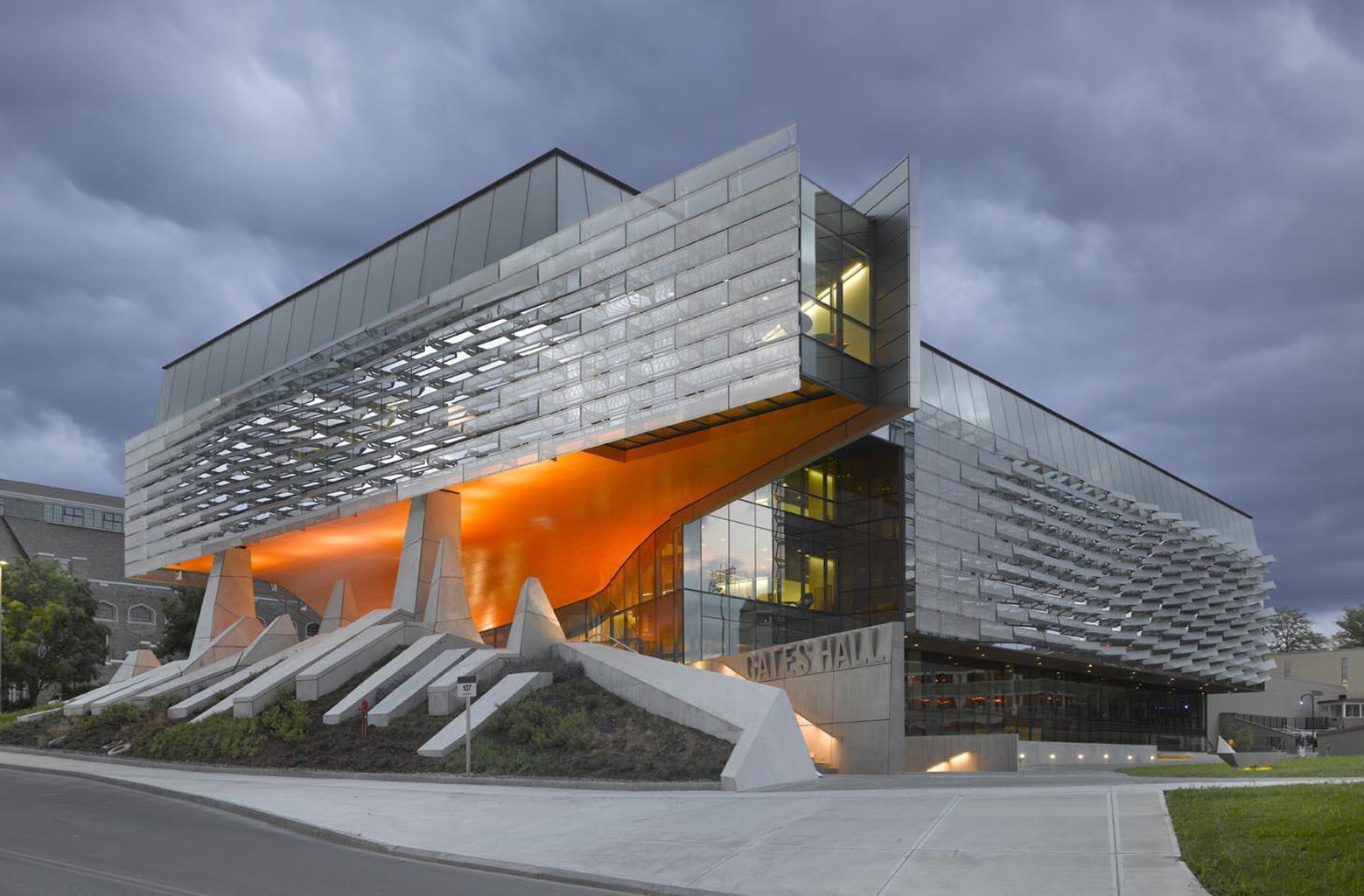 bill & melinda gates hall / morphosis architects | archdaily