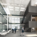 Atrium (render). Image Courtesy of Bogle Architects