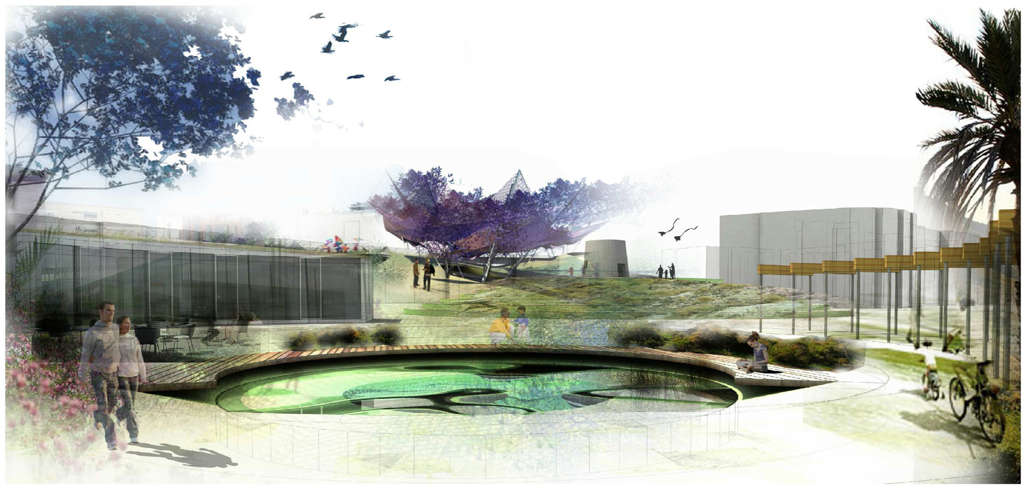 Parque urbano productivo, Primer Lugar en Holcim Awards Next Generation Europe 2014, Cortesia de DAT Pangea