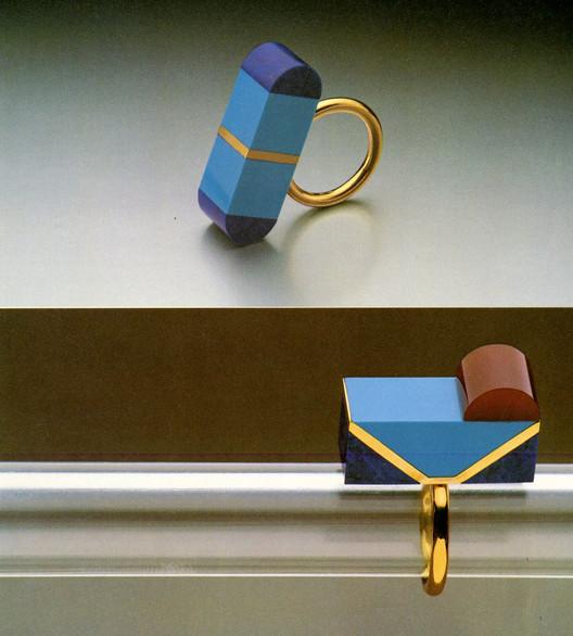 Jewelry designed by Arata Isozaki. Image © Rizzoli New York Courtesy of Sight Unseen