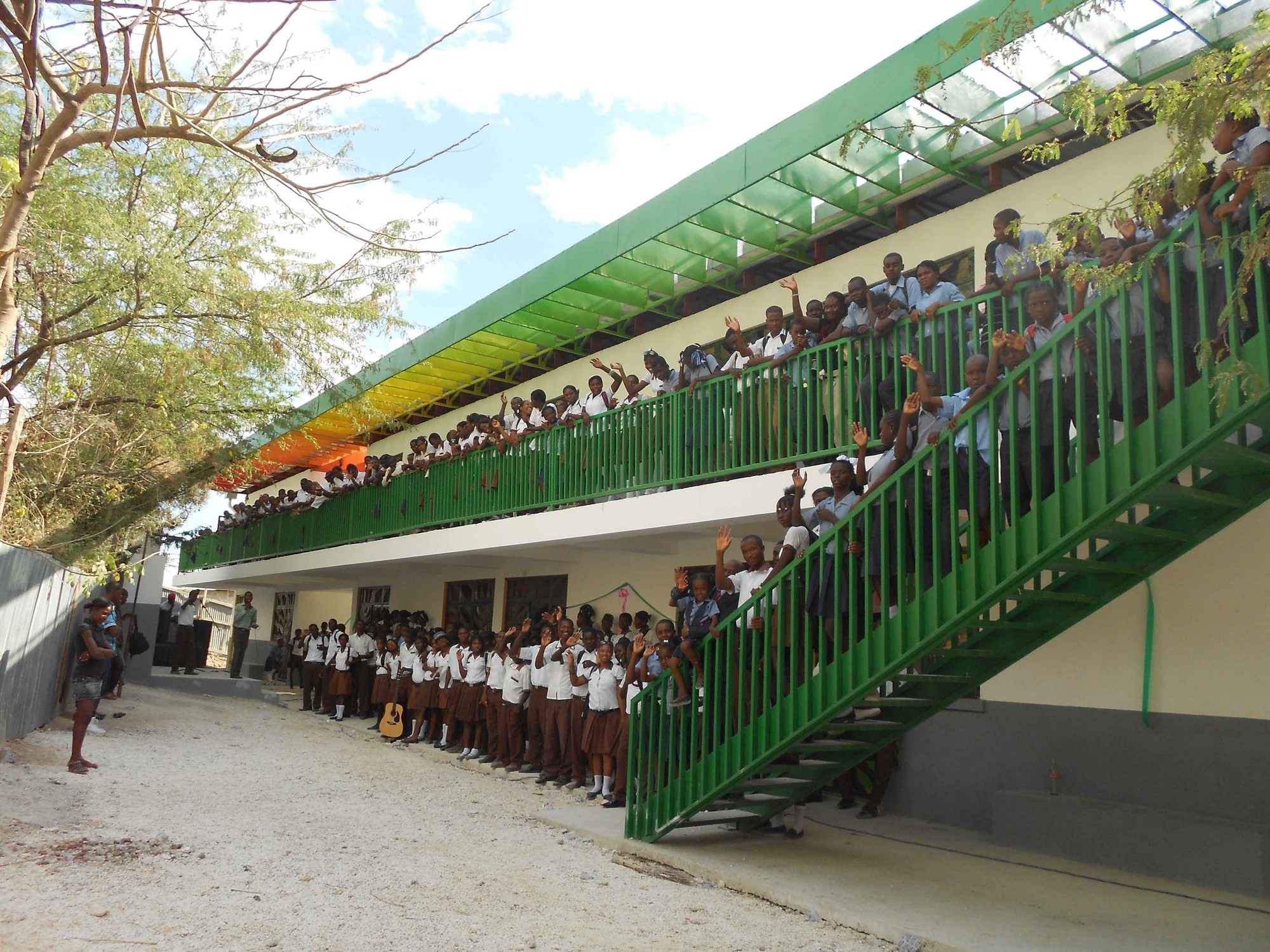 Architecture for Humanity Announces Completion of Haiti Initiatives, Collège Mixte Le Bon Berger. Image Courtesy of Architecture for Humanity