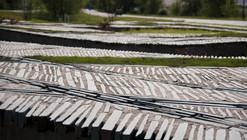 Paisaje y Arquitectura: Pliegues topográficos, una especie de tejido entre lo natural y lo artificial