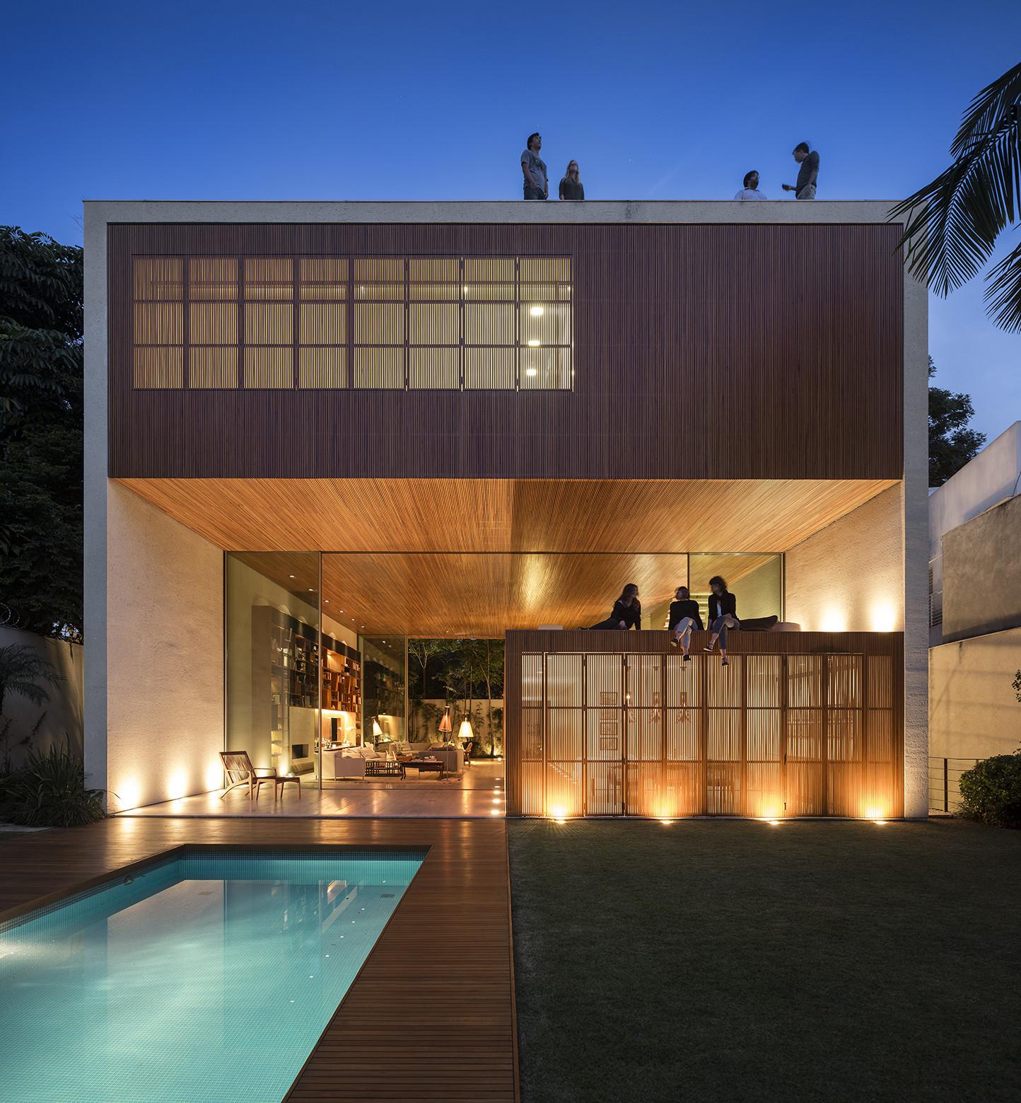 Tetris House / Studiomk27, © Fernando Guerra | FG+SG