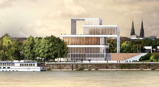 David Chipperfield Architects. Image Courtesy of Beethoven Festspielhaus
